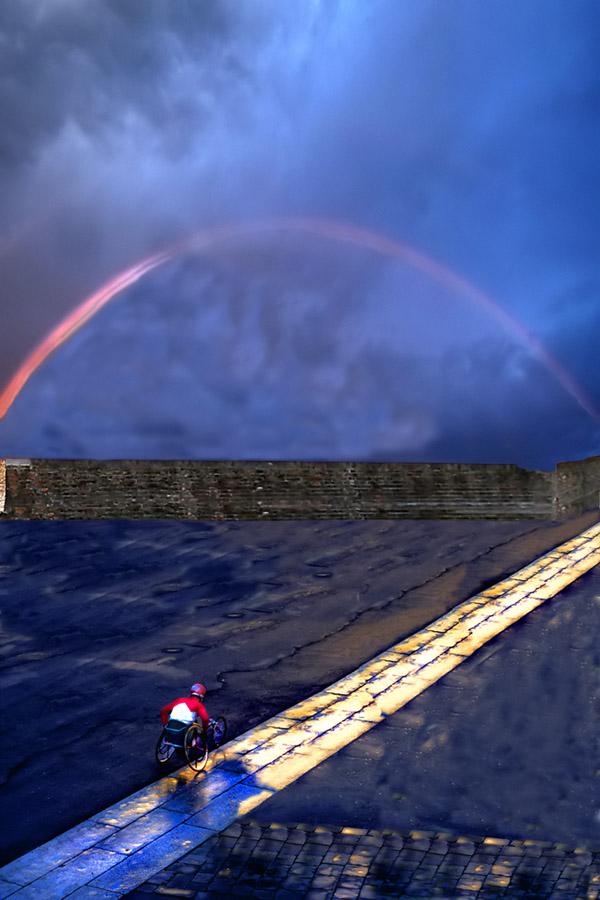 verso l'arcobaleno