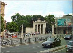 Verso Villa Borghese