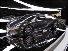 verspiegelter Bugatti