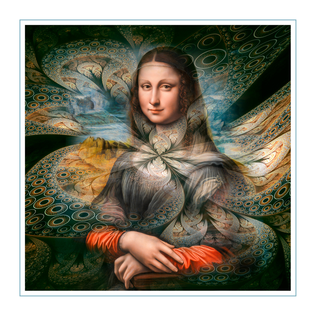 """"""" Verspielte Momente mit Mona Lisa """""""