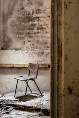 versteckter stuhl