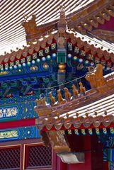 """Verstrickungen.....an den Dächern in der """"Verbotenen Stadt"""" in Peking"""