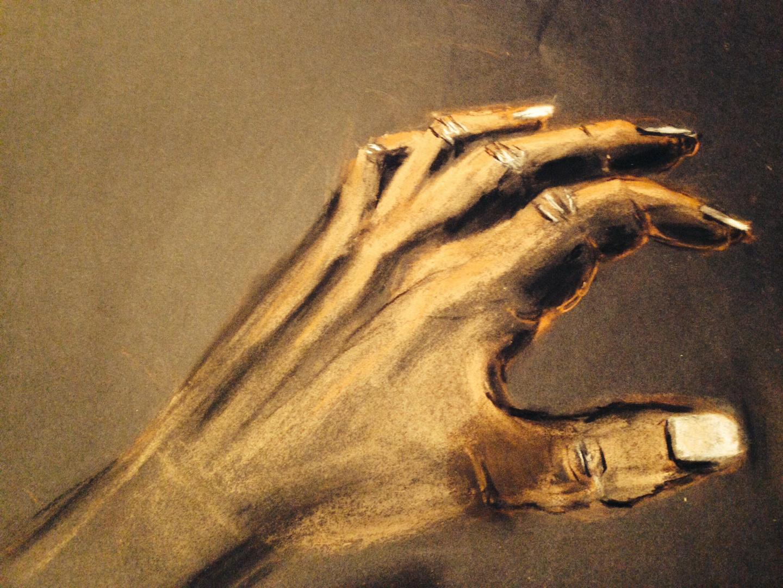 Versuch einer Hand