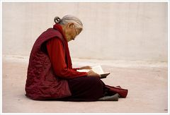 versunken im Gebet