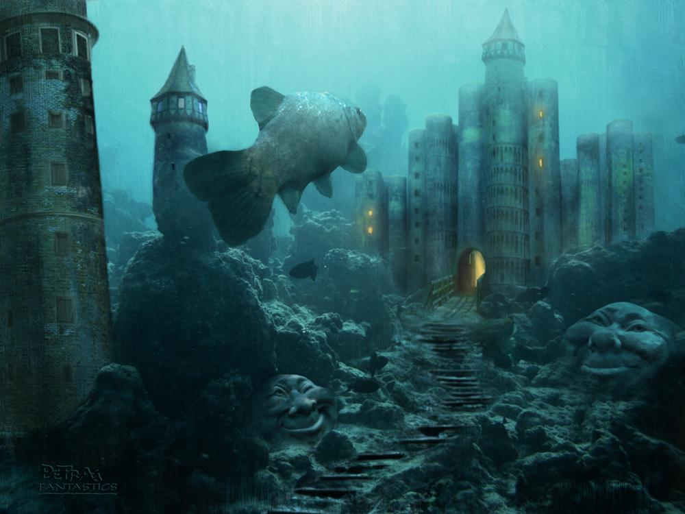 Versunkene Stadt