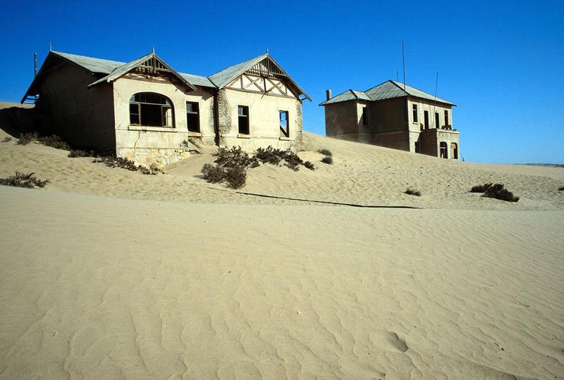 Versunkenes Kolmanskop