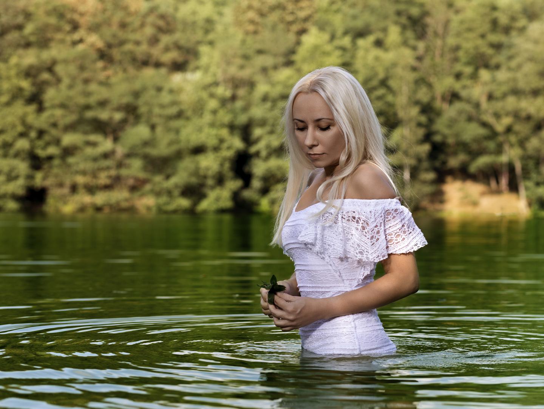 Verträumt im See