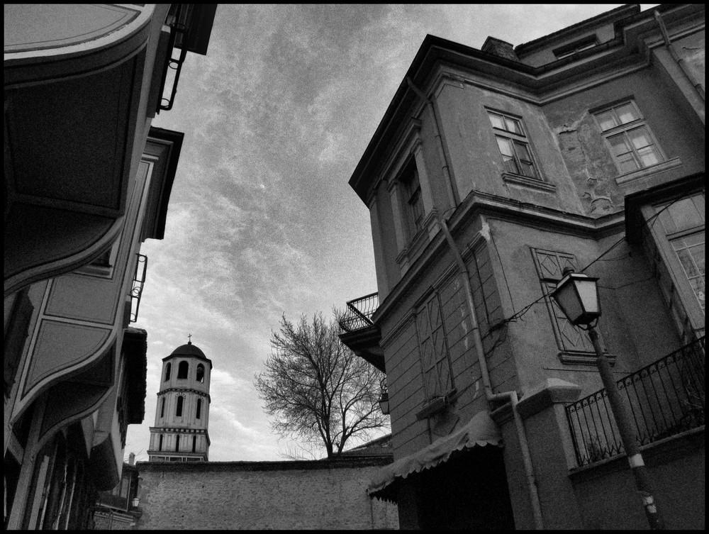 Verträumte, alte Architektur