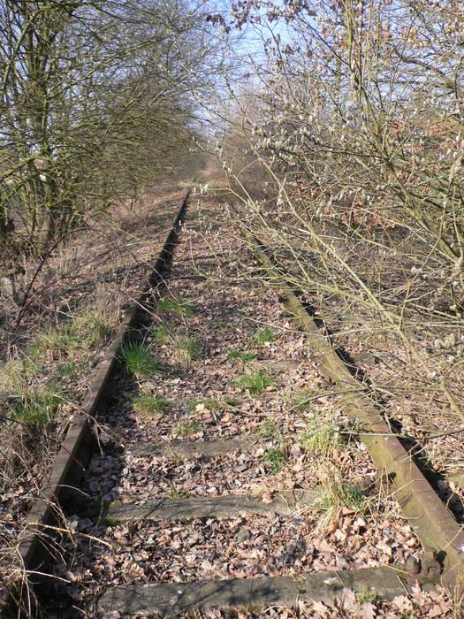 Verwaiste Bahnstrecke