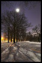 Very cold night..