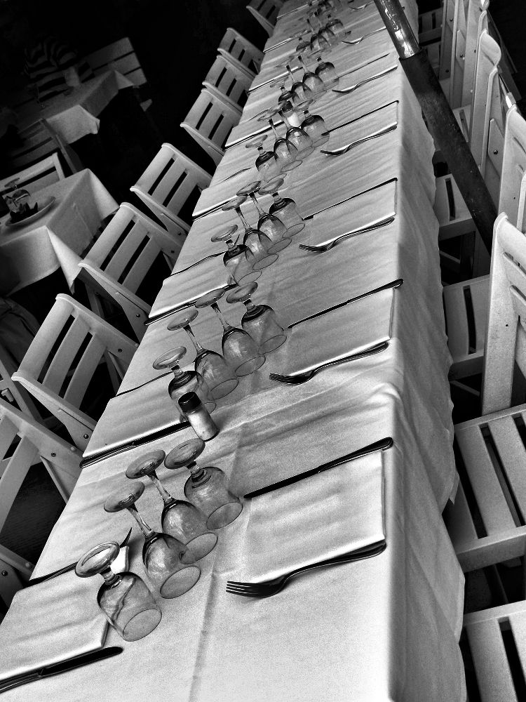 Very long table