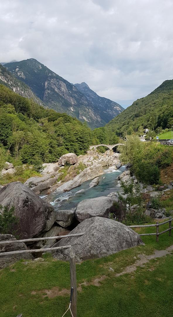 Verzasca-Tal, Tessin, Schweiz