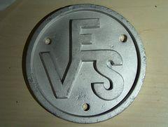 VES-Schild
