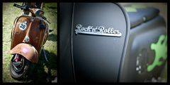"""Vespa-Styles: """"Rusty 28"""" meets """"Rock'n'Roller"""""""