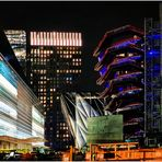 Vessel Nearing Completion - a Hudson Yards Nightscape