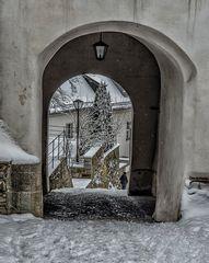 Veste Oberhaus - Durchblick