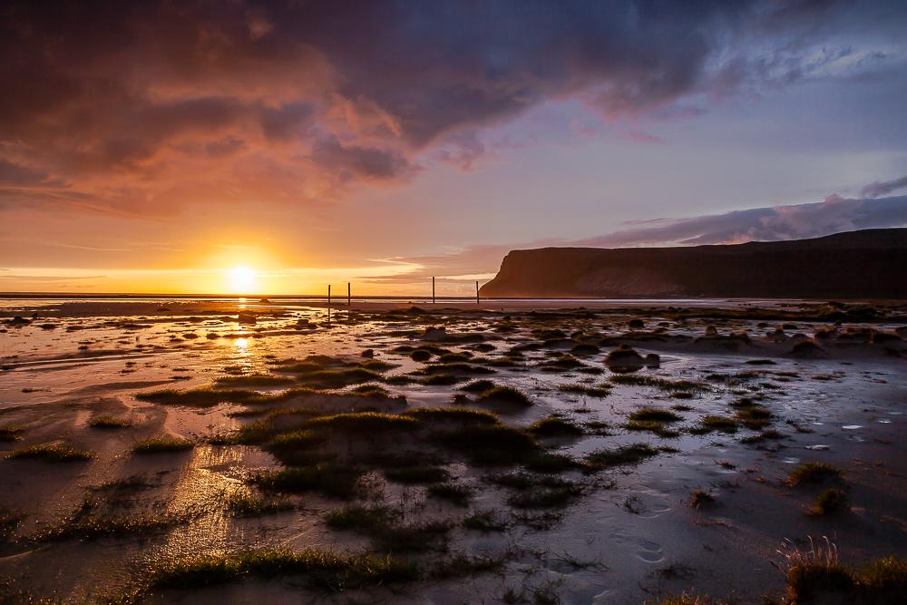 Vestfirðir - Sonnenuntergang