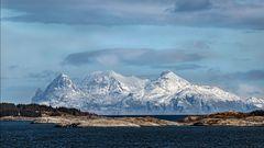 VESTFJORD, Überfahrt von Bodo nach Svolvaer, Lofoten