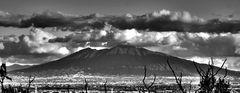 Vesuvio from San Michael's hill (Maddaloni - Caserta - Italy)