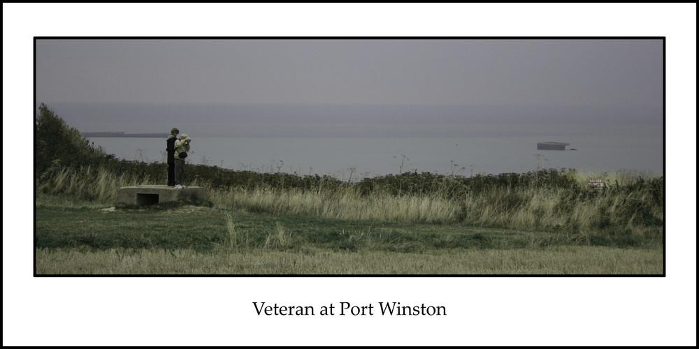 Veteran at Port Winston