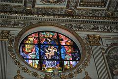 Vetrata di Santa Maria Maggiore.... Wie Dazumal.