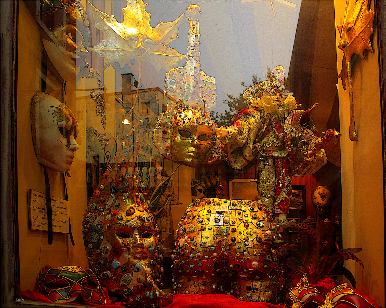 ...vetrina veneziana...