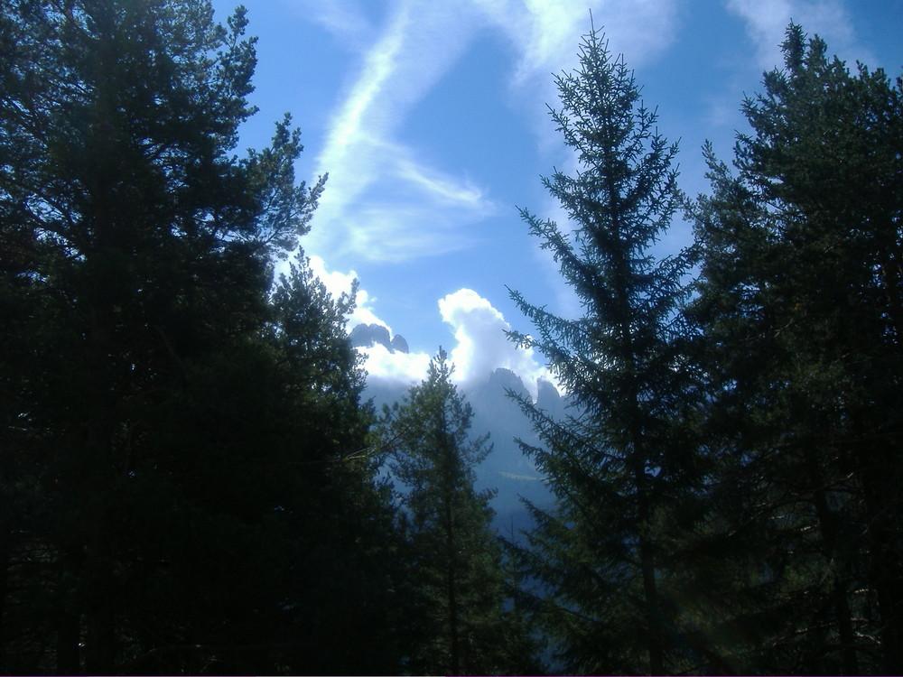 Vette e nuvole