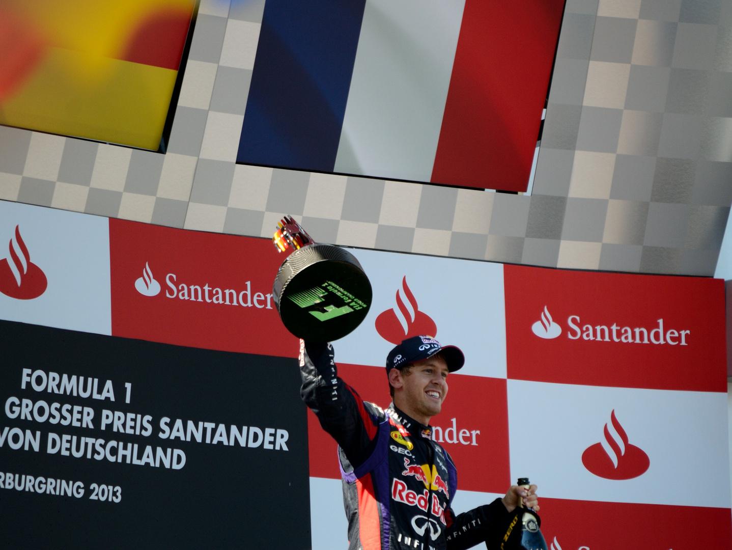 Vettel's 1. Heimsieg