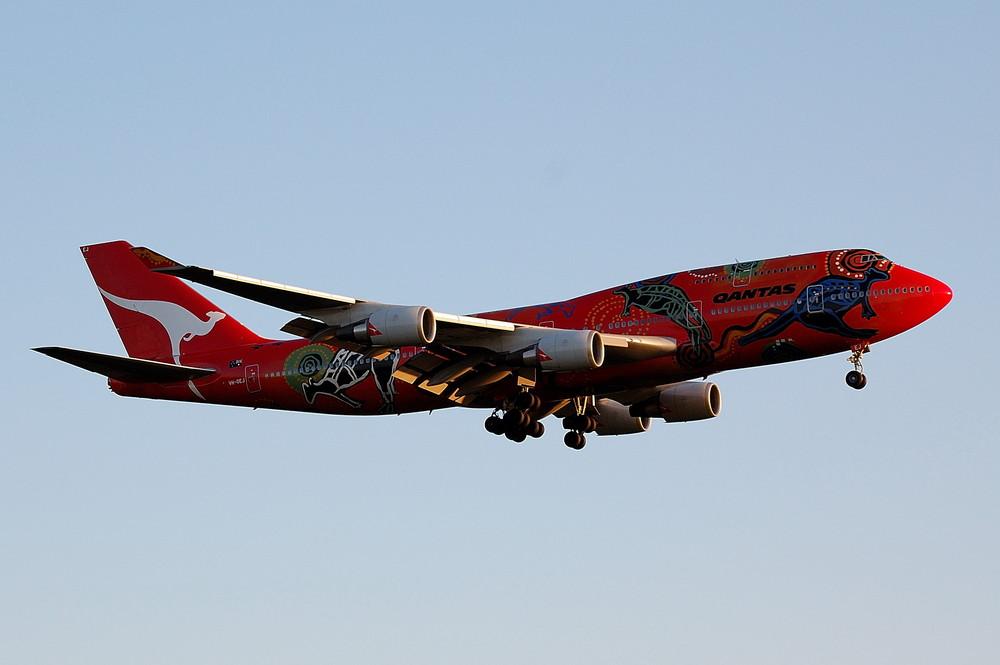 VH-OEJ / Qantas / Boeing 747-438