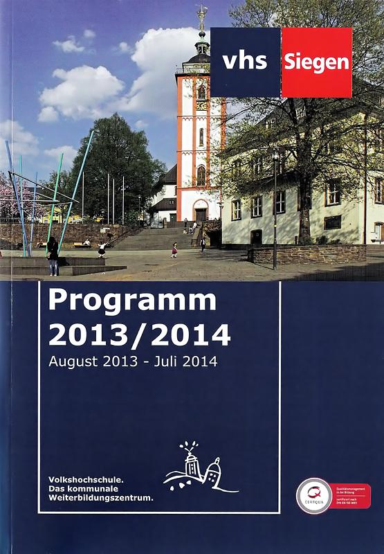 VHS-Heft 2013/2014