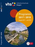 VHS-Siegen Programmheft 2017/2018