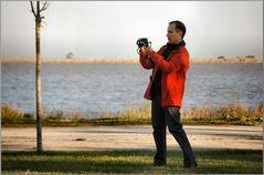 Vi presento un bravo fotografo.....mio amico António.