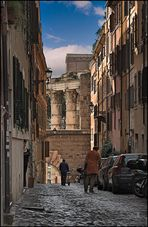 Via Baccina, Rom