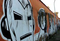 Via dei Magazzini Generali, Street Art a Roma.