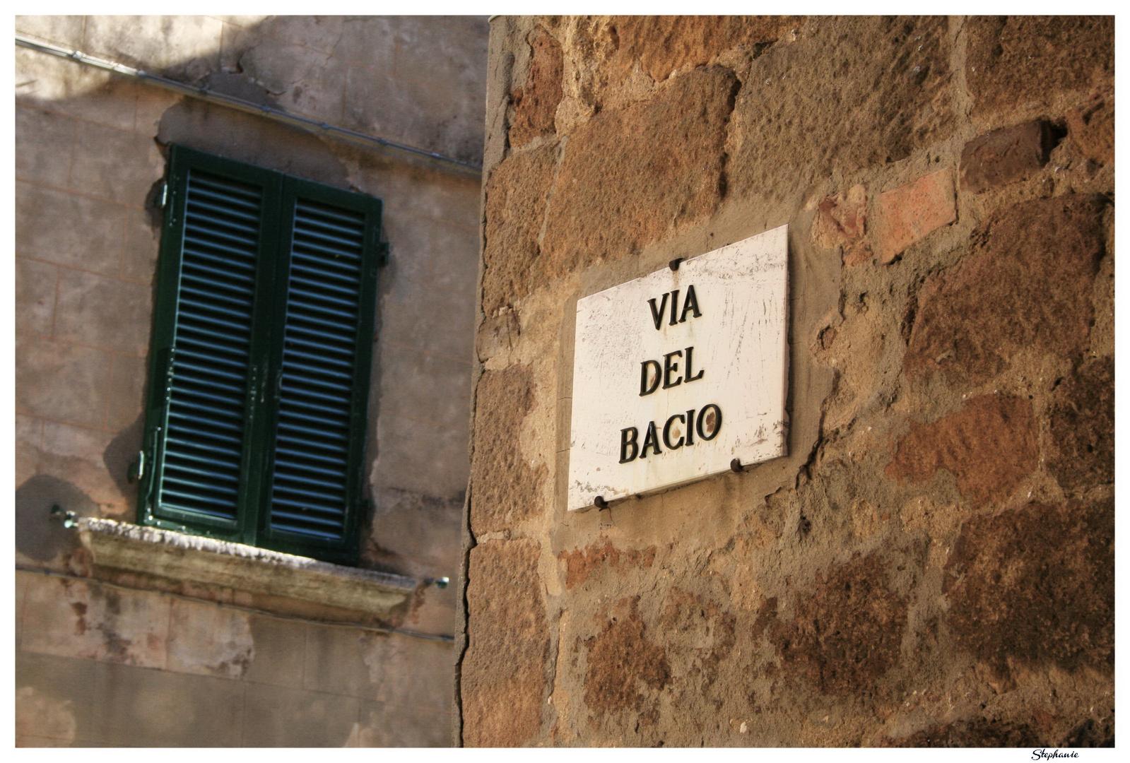 Via Del Bacio [Pienza]