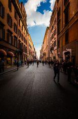 Via del Corso in Rom