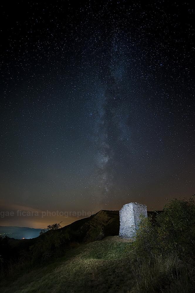 Via Lattea a Monte Boaggine