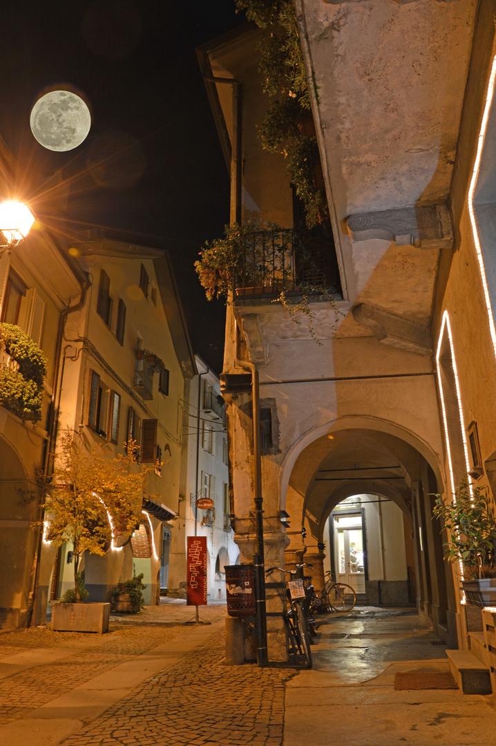 Via Mondovì a Cuneo
