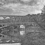Viadukt und Straßenbrücke Göhren