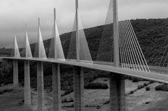 Viadukt von Millau/Frankreich