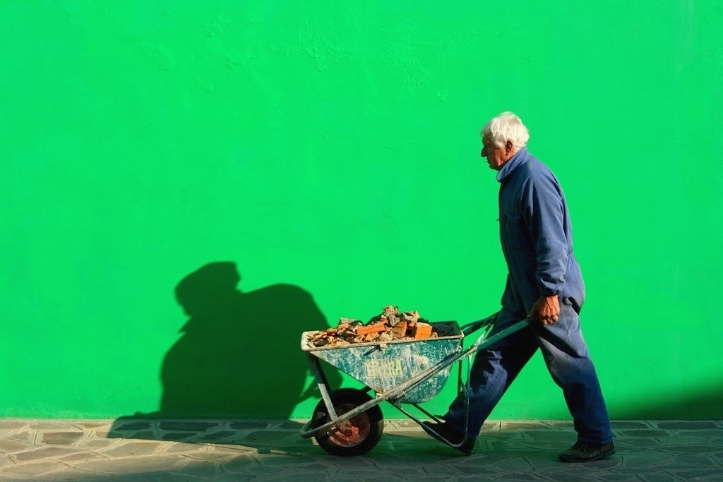 """VIAGGIO NEL COLORE .."""" ..verde...speranza.... """""""