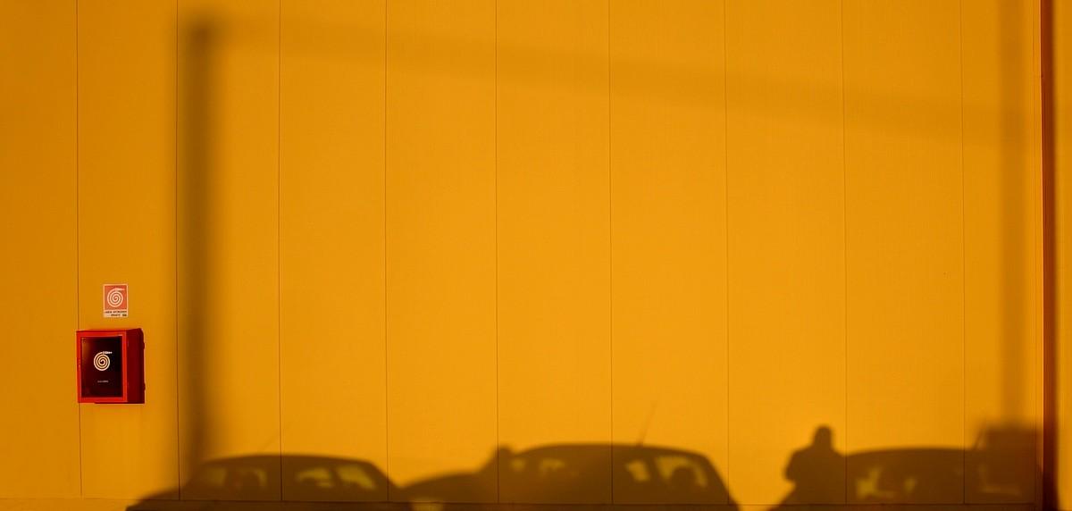 """VIAGGIO NEL COLORE """" Yellow...Parking """""""
