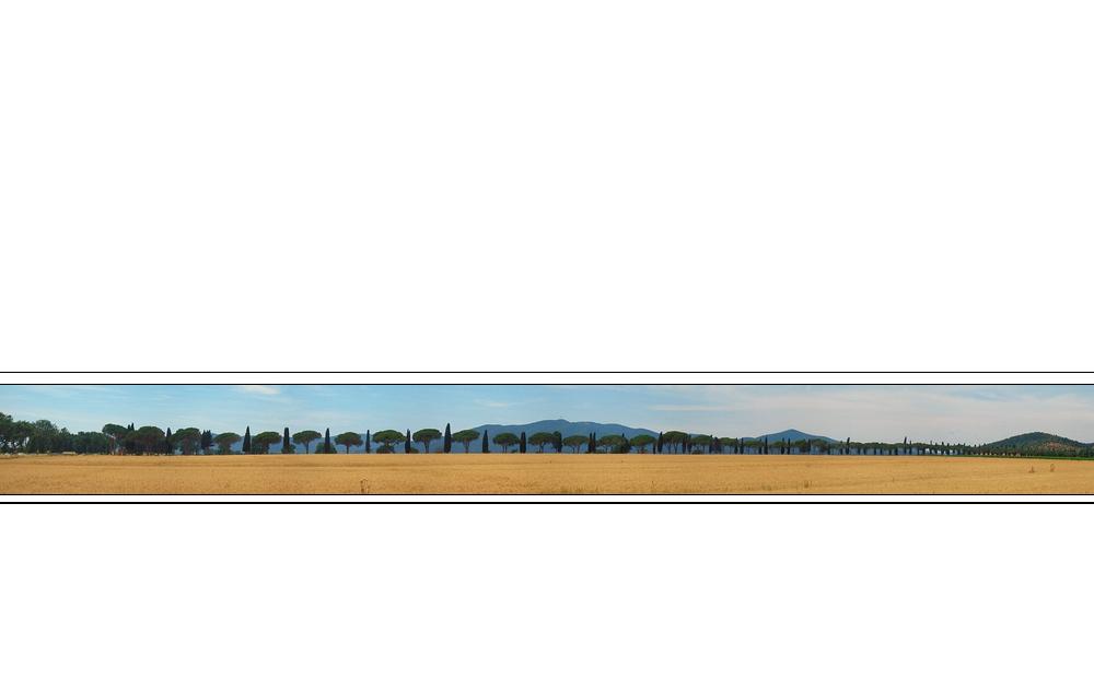 Viale dei Cipressi - Strip