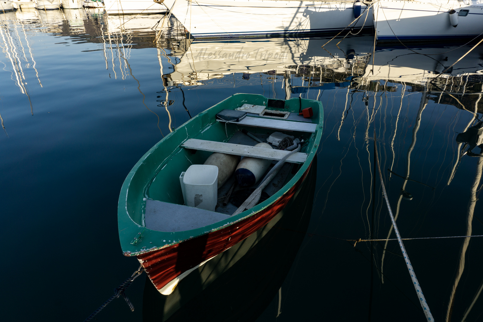 Vibo Marina e il suo porto.