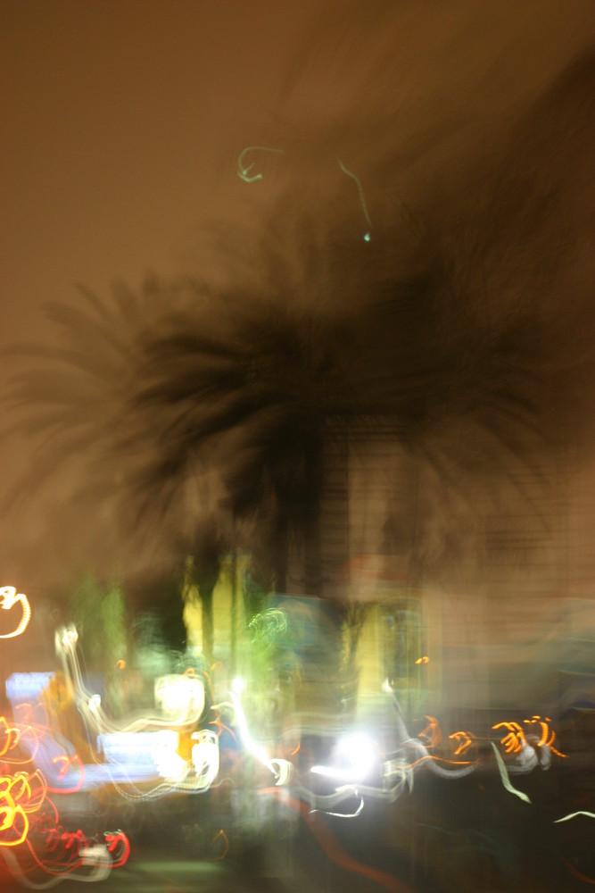 vibrant city night