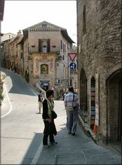 Vicolo a Assisi