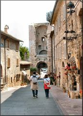 * Vicolo a Assisi *