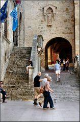 «Vicolo a San Gimignano»