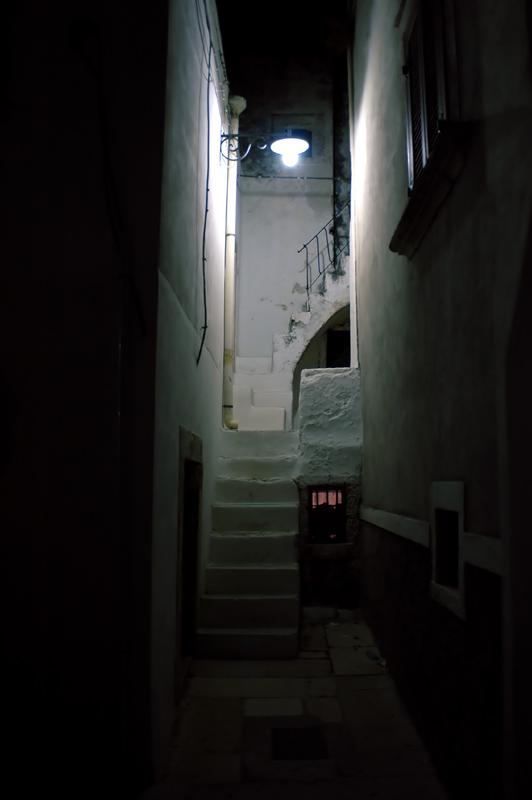 vicolo di Peschici (Gargano)