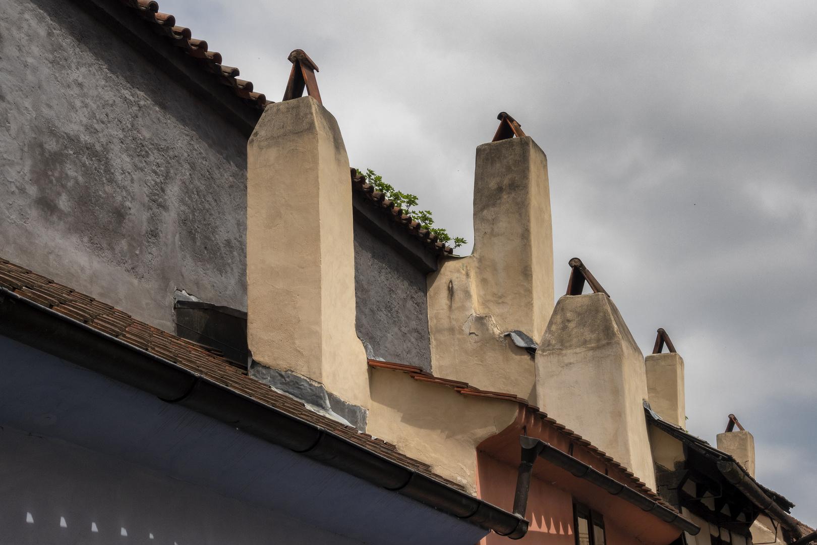 Vicolo d'oro, castello di Praga